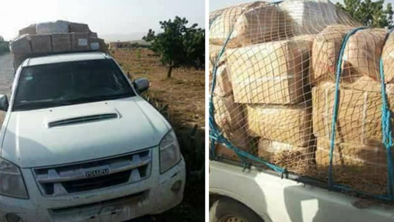Saisie de marchandises de contrebande dans plusieurs régions