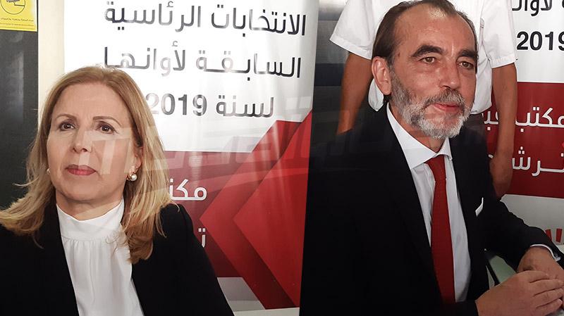 Salma Elloumi et Saïd Aydi