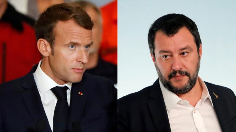 Salvini: La France a un très mauvais Président