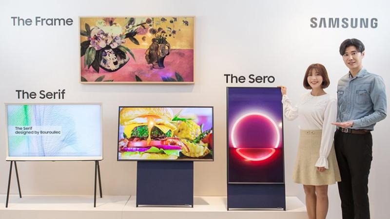 Samsung: «Sero», une télévision verticale