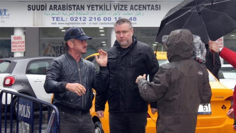Sean Penn à Istanbul pour un film sur l'assassinat de Khashoggi