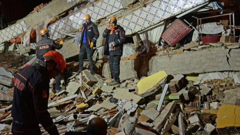 séisme en Turquie