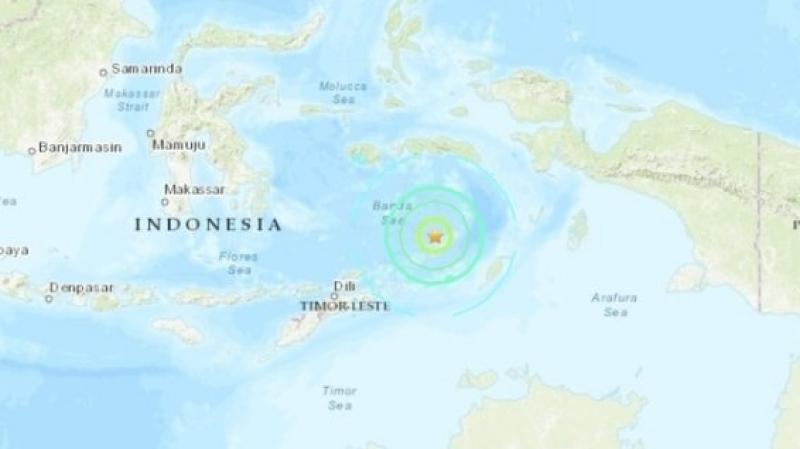 séisme Indonésie