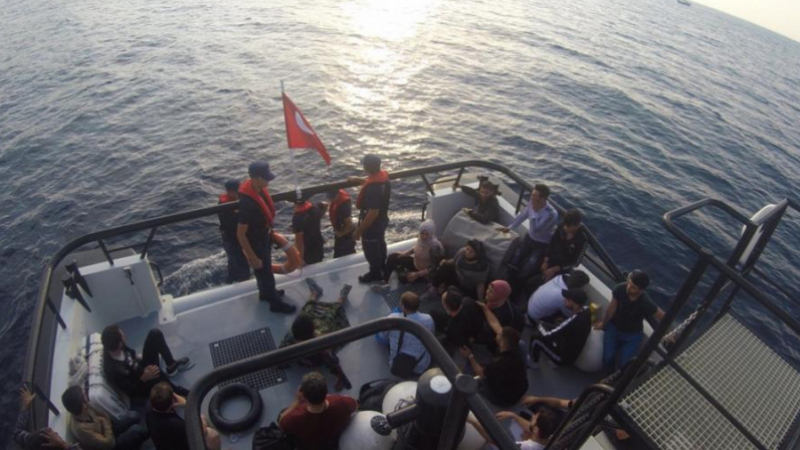 Sfax: 40 migrants clandestins sauvés par la marine nationale