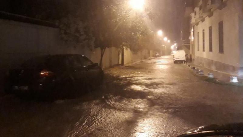 Sousse: certains quartiers remplis d'eau de pluie