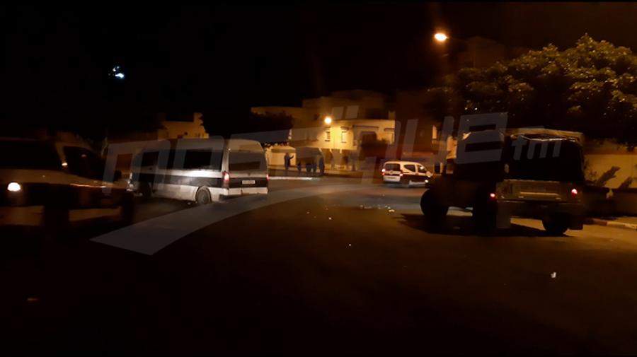 Sousse : Émeutes à Bir Chbek