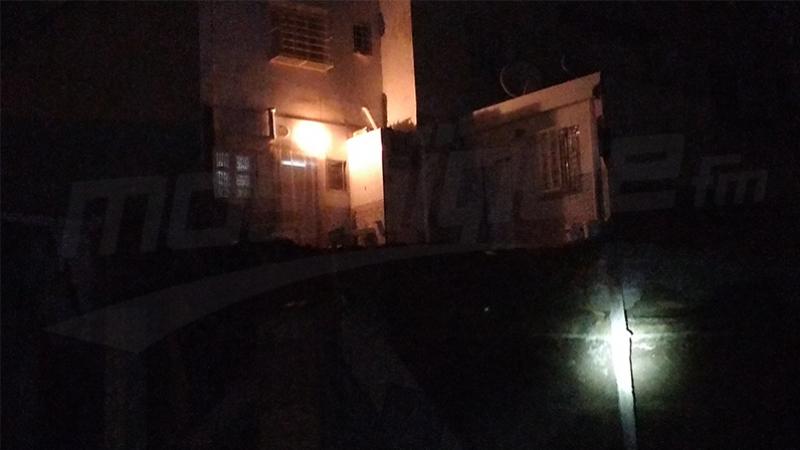Sousse : une partie d'un immeuble s'effondre