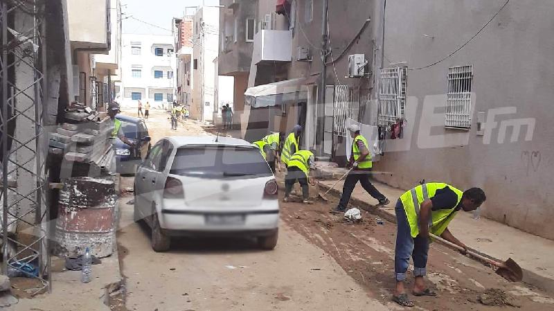Stérilisation des maisons touchées par les inondations