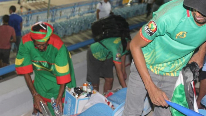 supporters Mauritanie