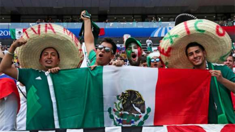 supporters mexicains