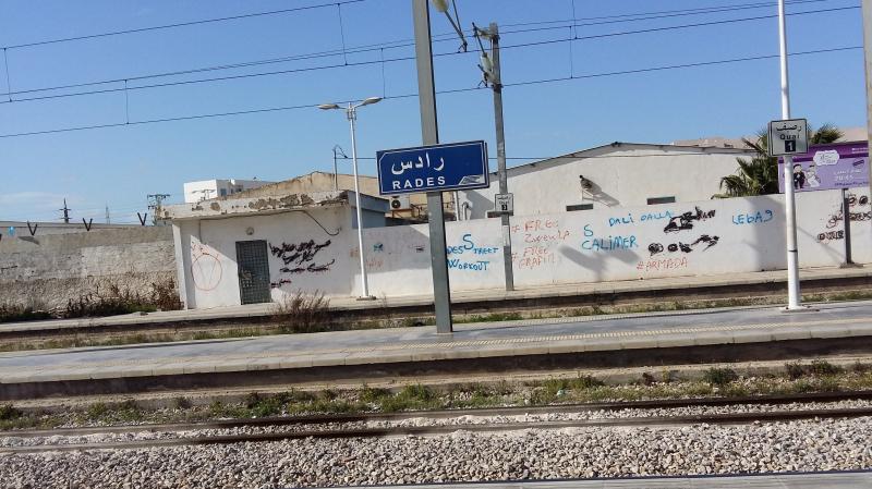 Suspension du trafic ferroviaire à la gare de Rades: Les Details