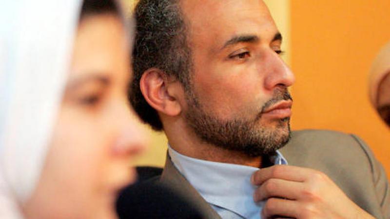 Tariq Ramadan dans une conférence sur les violences faites aux femmes