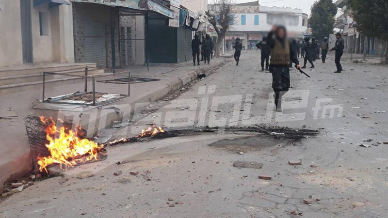 Tebourba : reprise des affrontements