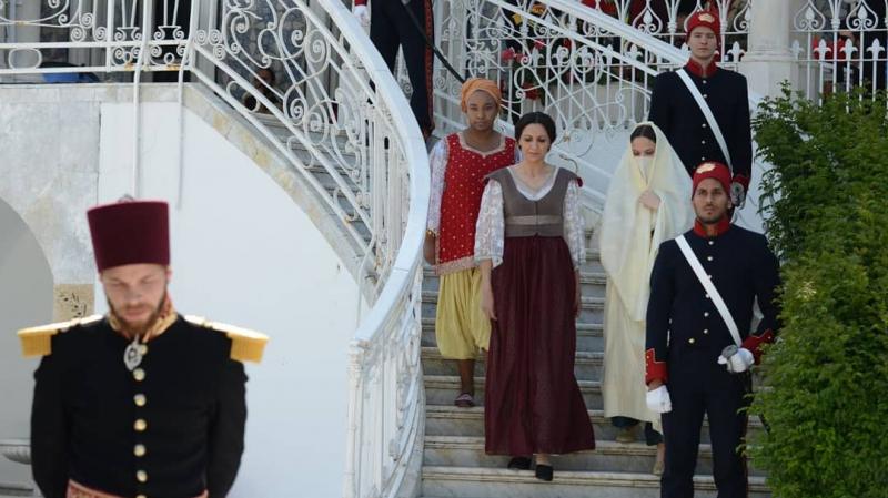 Tej El Hadhra tourné à la Résidence de l'ambassadeur de la G.B