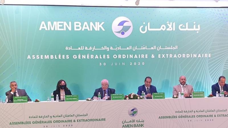 Tenue de l'AGO AMEN BANK 2019 Performance et Solidité