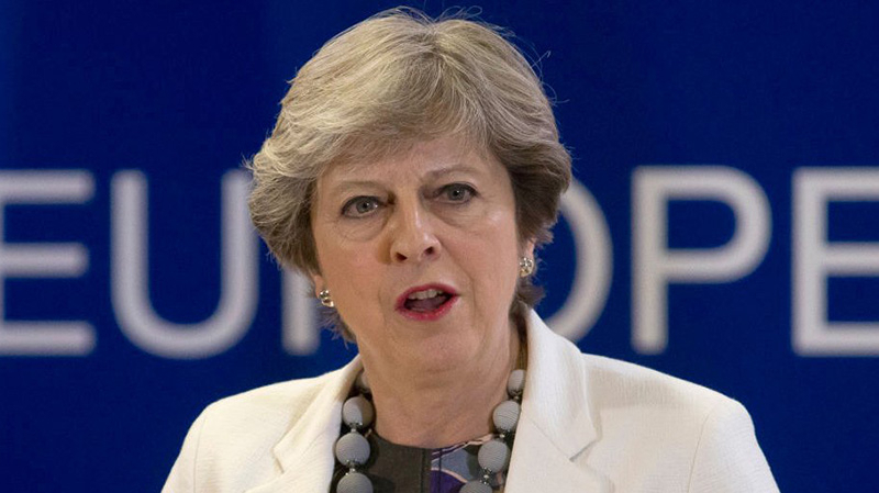 Theresa May annonce le boycott de la coupe du monde 2018