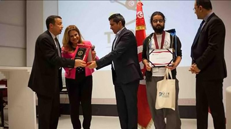 TOPS 2018 : Marwen Sfar Guandoura de l'INSAT remporte la médaille d'or