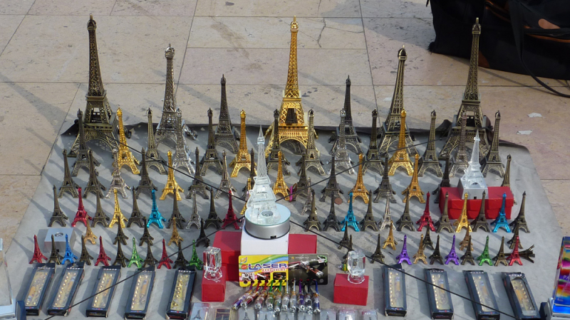 tours eiffel miniatures