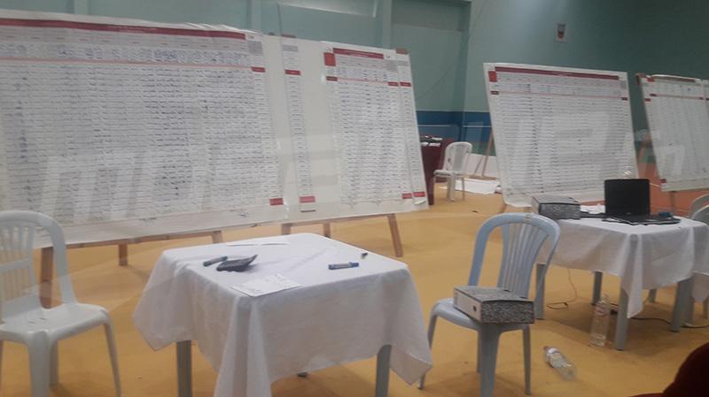Tozeur: Fin du dépouillement et résultats préliminaires