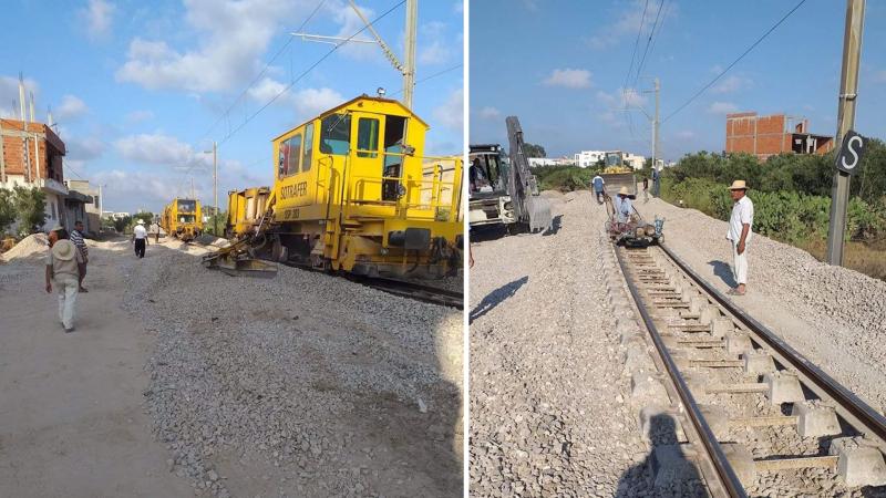 Travaux- chemin de fer