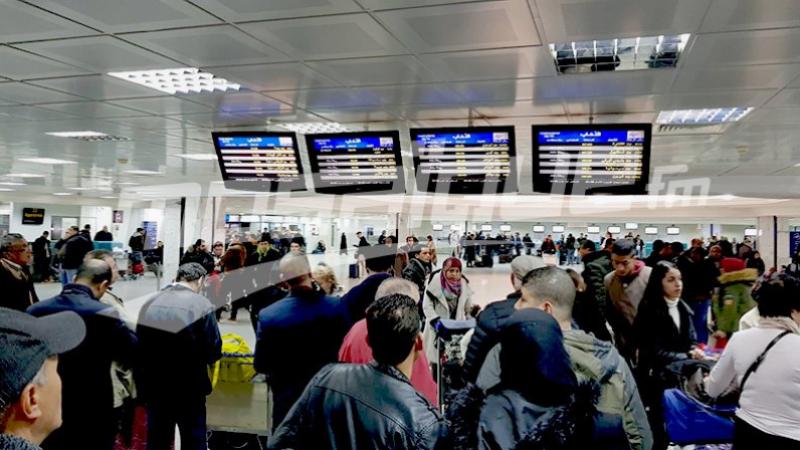 Tunisair recommande à ses passagers une présence de 3 h avant le vol