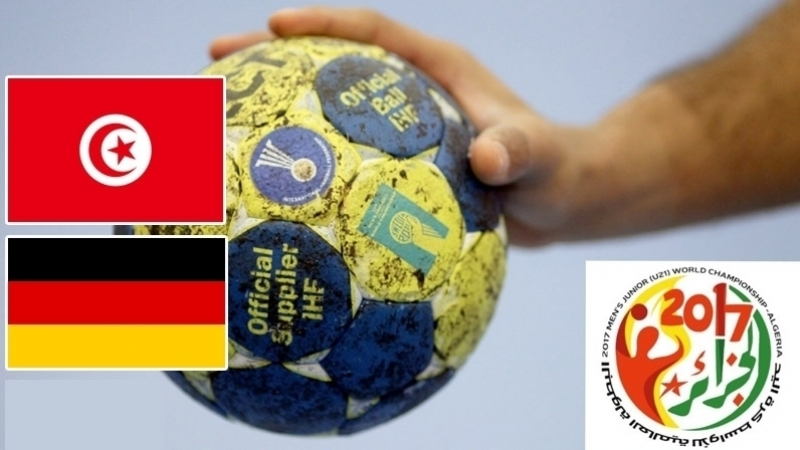tunisie-allemagne, handball