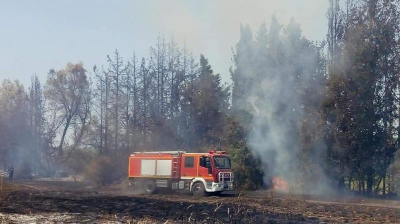 Un incendie maîtrisé à Béni Khalled