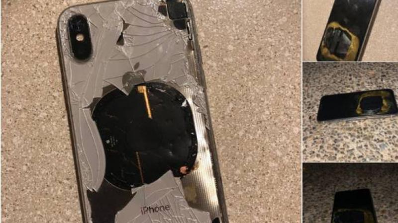 Un iPhone X aurait pris feu lors d'une mise à jour