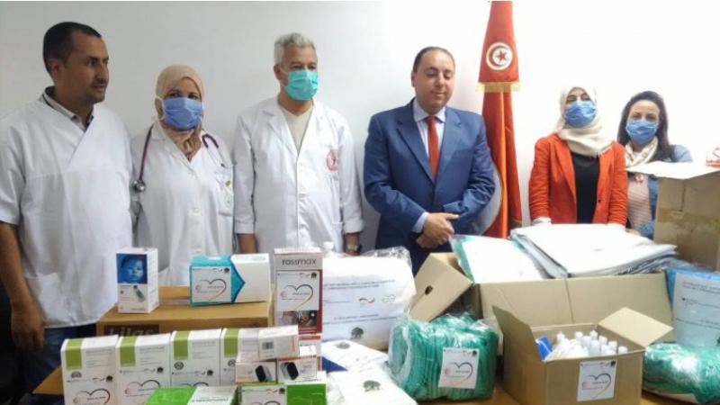 Une association fait don d'équipements à l'hôpital de Aïn Drahem