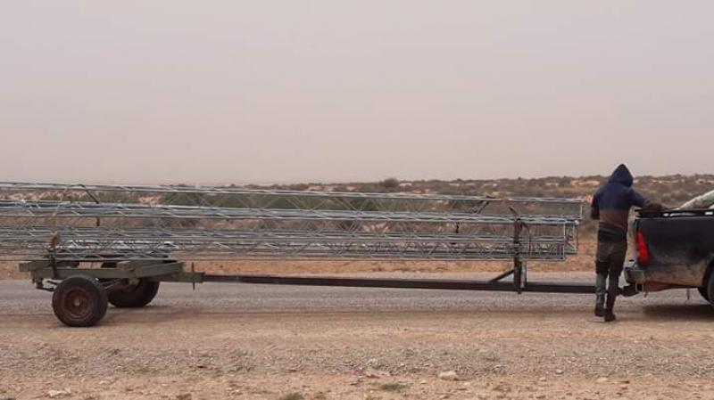Une coupure d'électricité à Tataouine causée par le vent