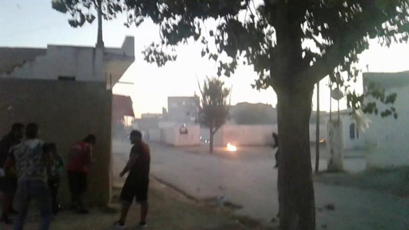 Bataille rangée à Ezzahra: Le coeur d'une enfant flanche