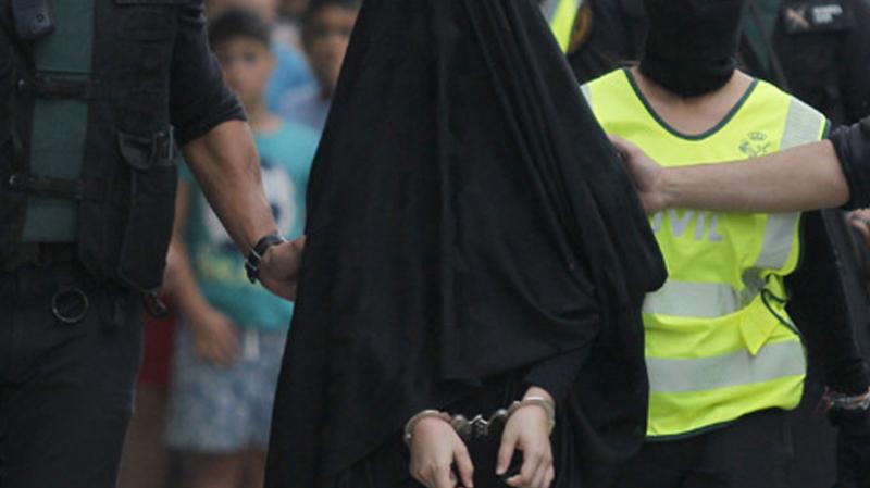 Une takfiriste arrêtée pour appartenance à un mouvement terroriste