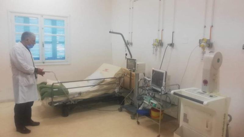 Une unité d'isolement à l'hôpital de Jendouba