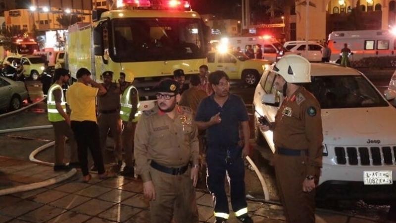 unité de la protection civile de la Mecque