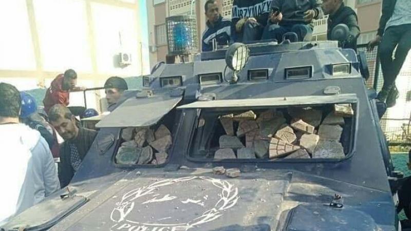 Voiture de police Algérie