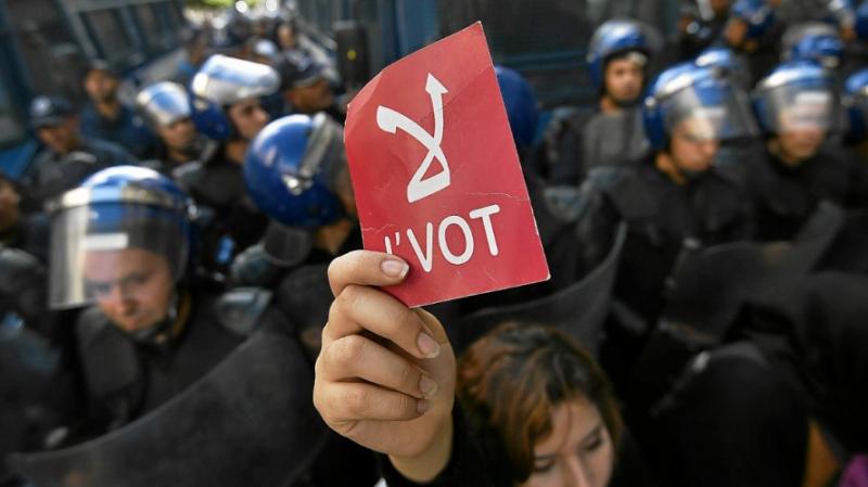 vote en Algérie