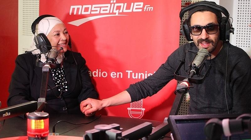 Wassim Migalo et sa mère Yosra
