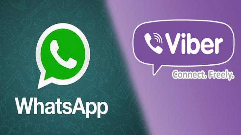 Whatsapp et Viber
