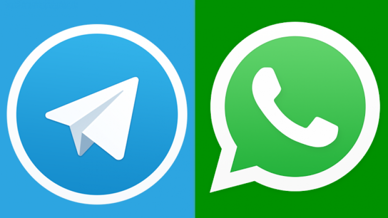 WhatsApp, Telegram