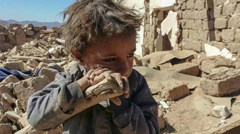 Yémen, guerre, enfants