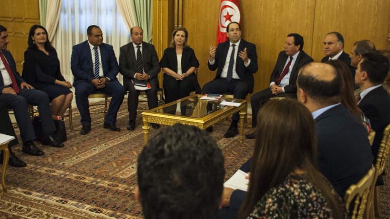 youssef chahed réunion