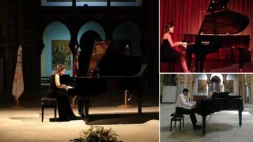ثلاث مواهب تونسية تتوج في المغرب في مسابقة للعزف على البيانو