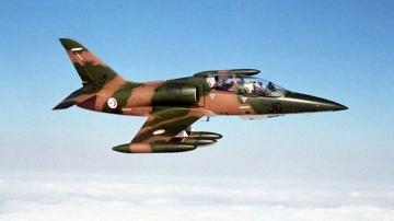 طائرة عسكرية