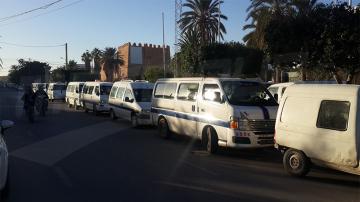 قفصة : أصحاب سيارات الأجرة 'لواج' في إضراب