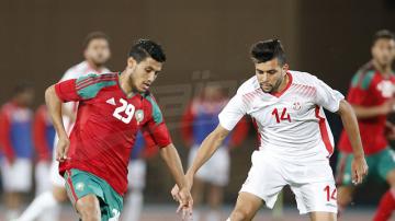 مباراة دولية ودية بين تونس والمغرب في رادس