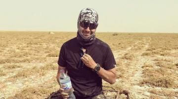 رجيم معتوق:الحر ونفاذ المياه يضطر عداء إلى التوقف قبل 15 كلم من الوصول