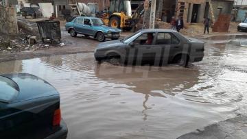 القصرين: مياه الأمطار تغمر عددا من المنازل في ماجل بالعباس