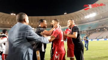تبادل للعنف بين لاعبي النجم والصفاقسي اثر النهائي