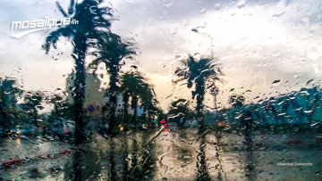 سحب رعدية وأمطار غزيرة مصحوبة بالبرد في هذه المناطق