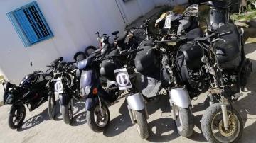 منزل تميم: تفكيك عصابة مختصة في سرقة الدراجات النارية